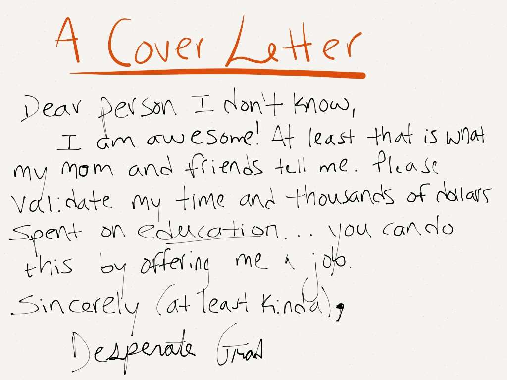 funny cover letters